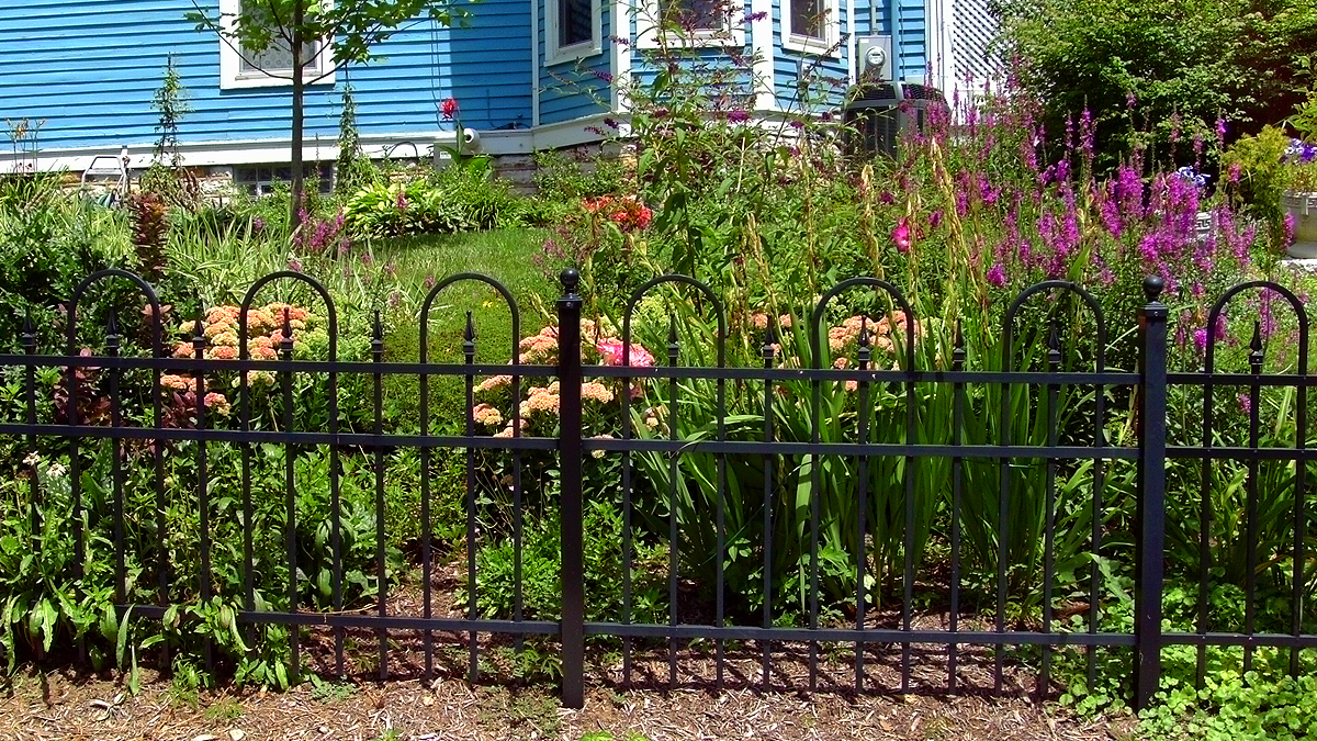 Beautify your home with an aluminum fence from Ashlee Fence.