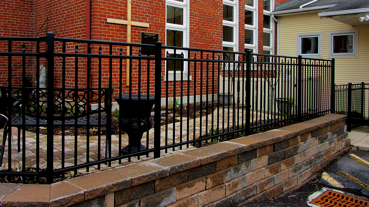Aluminum fencing is perfect when durability and safety are a top priority.