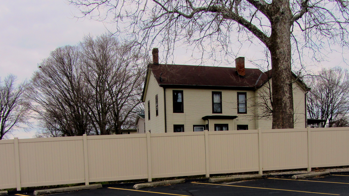 Reduce noise and add privacy with a vinyl fence.