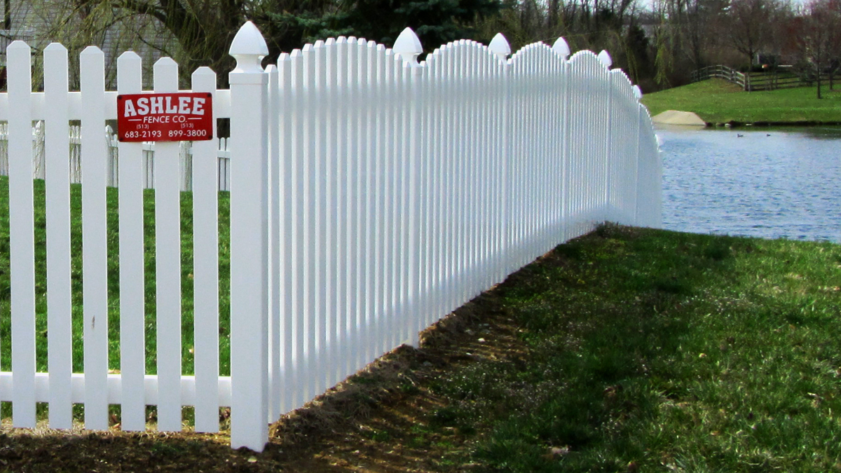 Keep your property safe with a vinyl fence enclosure from Ashlee.