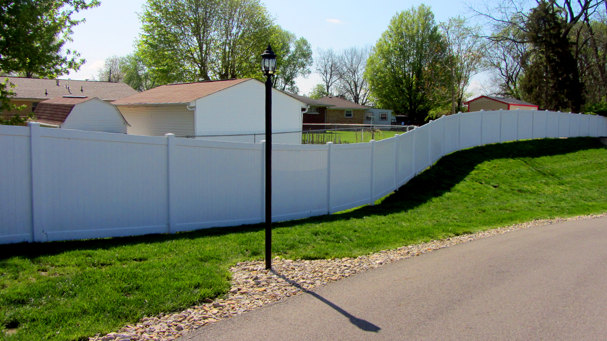 Enjoy added privacy and security with a vinyl fence installation from Ashlee Fence.