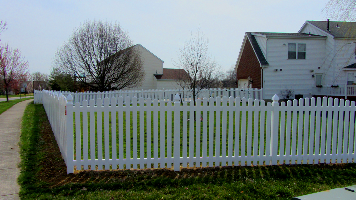 The new and improved American classic vinyl picket fence.
